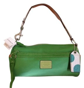 Coach Satchel in Green