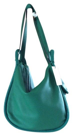 Preload https://item5.tradesy.com/images/pebbled-emerald-green-leather-hobo-bag-1629124-0-0.jpg?width=440&height=440