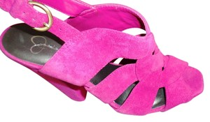 Jessica Simpson Magenta Pumps