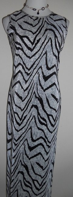 Black / OffWhite Maxi Dress by Other Maxi Maxi Image 1