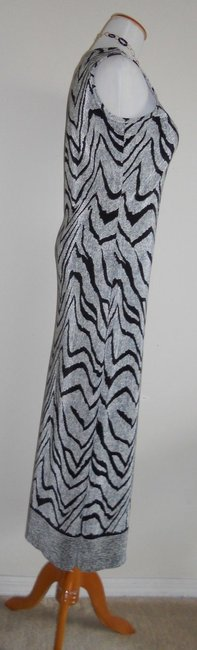 Black / OffWhite Maxi Dress by Other Maxi Maxi Image 2