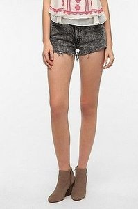 Levi's Urban Outfitters Urban Cut Off Shorts Black