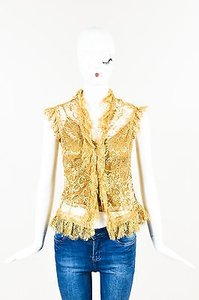 Ralph Lauren Yellow Top Gold