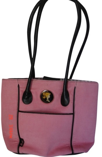 Preload https://item2.tradesy.com/images/doll-handles-trim-compact-mirror-pink-and-black-corduroy-faux-leather-shoulder-bag-1629306-0-0.jpg?width=440&height=440