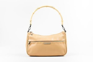 Gucci Tan Leather Shoulder Bag
