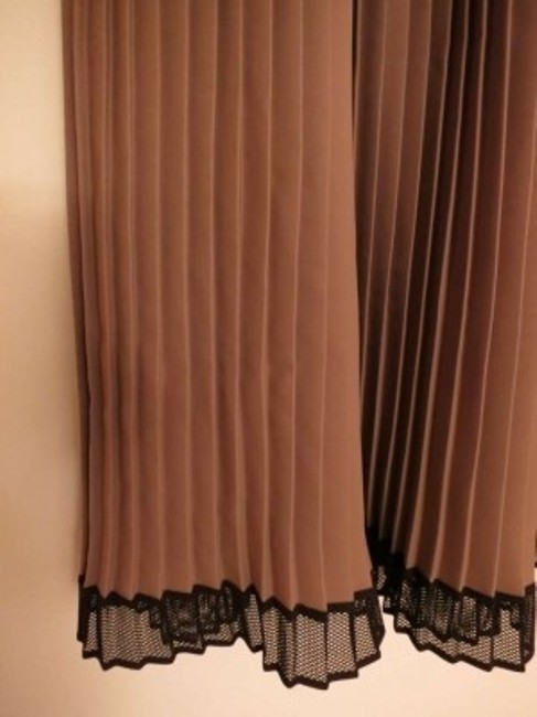 Eva Franco Cocktail Knee Length Brown Bow Detail New Dress