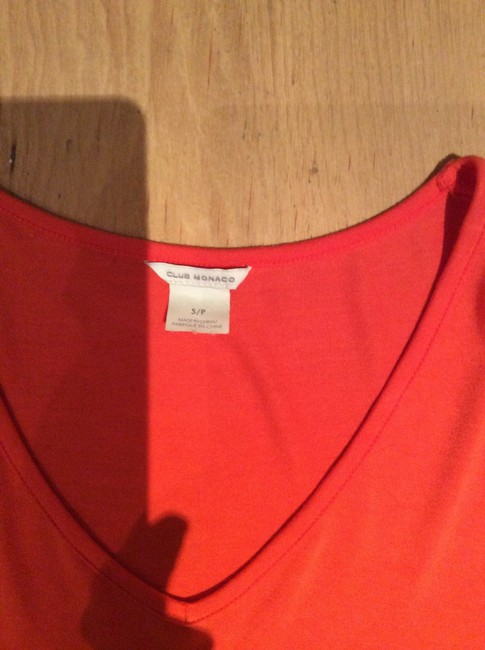 Club Monaco T Shirt Orange