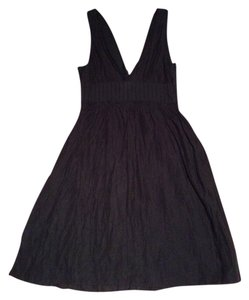 Mango short dress Black on Tradesy