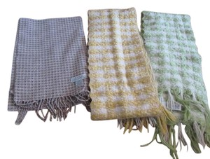 Banana Republic 4 assorted scarves