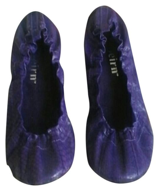 Item - Purple Watersnake Ballet Flats Size US 9 Regular (M, B)