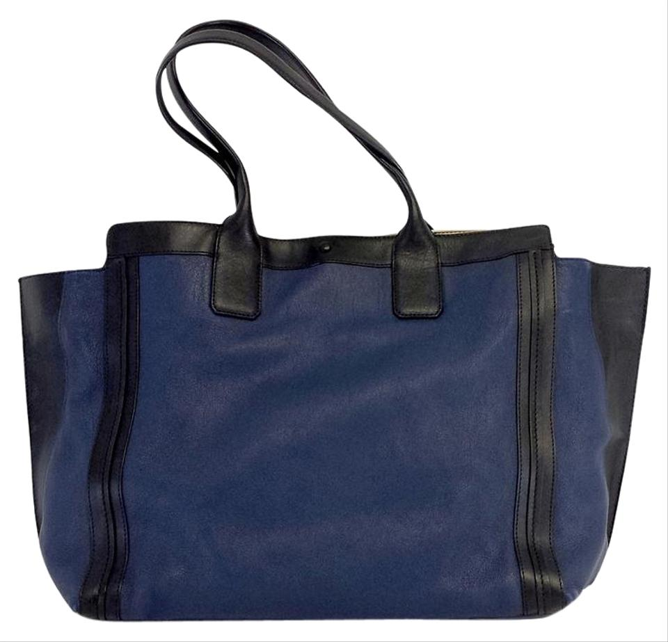 Chloé West Navy & Black Tote Bag | Totes on Sale