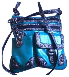 Messenger / Crossbody Patent Boho Summer Vs Cross Body Bag