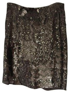 Gold Hawk Skirt Pewter