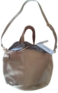 Marni Satchel in nude and gray