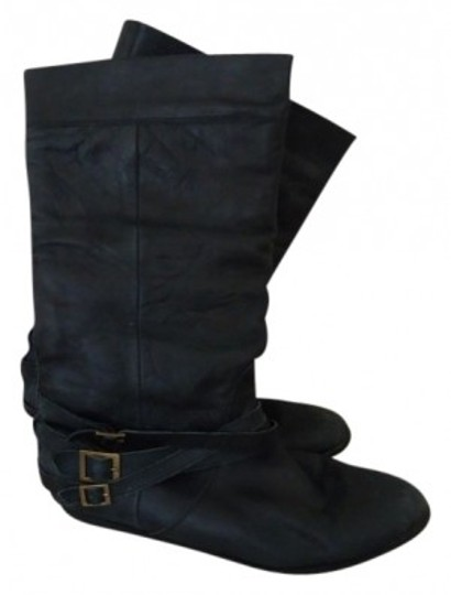 Preload https://img-static.tradesy.com/item/16298/steve-madden-black-leather-distressed-bootsbooties-size-us-8-regular-m-b-0-0-540-540.jpg
