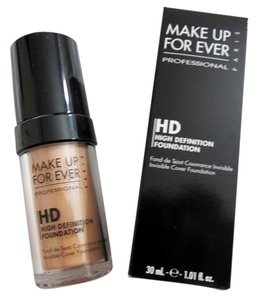 MAKE UP FOR EVER MAKE UP FOR EVER HD Invisible Cover Foundation 1.01 fl oz 30ml- Choose your Color N165 or N160
