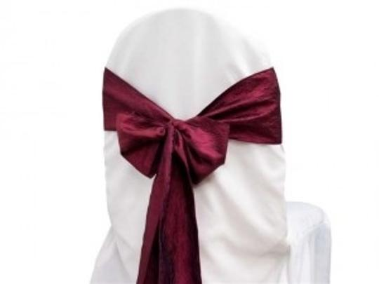 Preload https://item5.tradesy.com/images/burgundywine-taffeta-crinkle-chair-sashes-other-162984-0-0.jpg?width=440&height=440