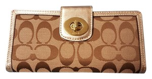 Coach Coach Checkbook/Wallet