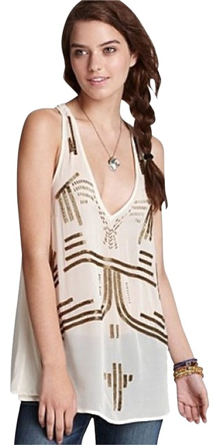 Preload https://item4.tradesy.com/images/free-people-beige-with-gold-beading-tank-topcami-size-8-m-1629883-0-0.jpg?width=400&height=650