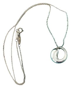 Tiffany & Co. Elsa Peretti Eternal Circle Pendant Necklace
