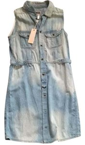 Diesel short dress Blue on Tradesy