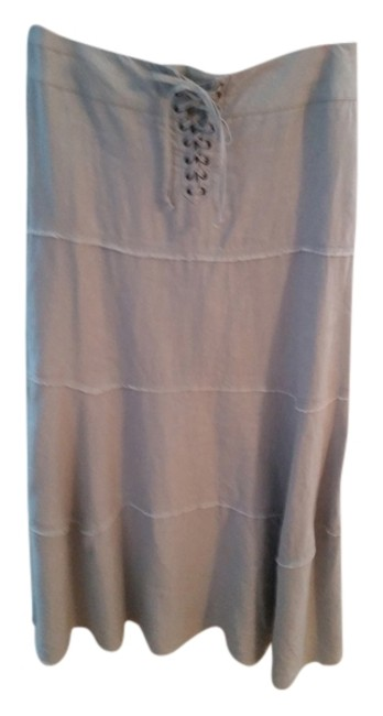 Item - Gray Summer Fling A Line Skirt Size 10 (M, 31)