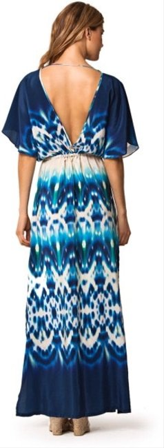 Teal Mix Maxi Dress by ViX