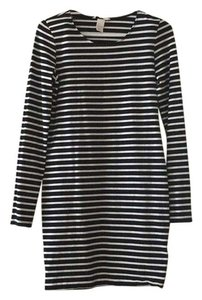 H&M short dress Black and white stripe on Tradesy