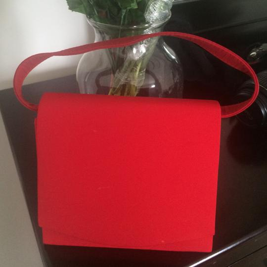 Other Vintage Retro red Clutch Image 2
