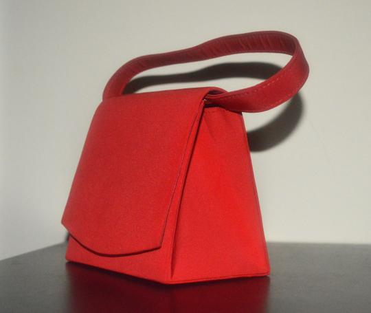 Other Vintage Retro red Clutch Image 6