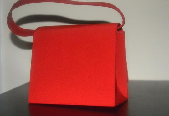 Other Vintage Retro red Clutch Image 7
