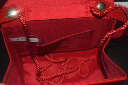 Other Vintage Retro red Clutch Image 8