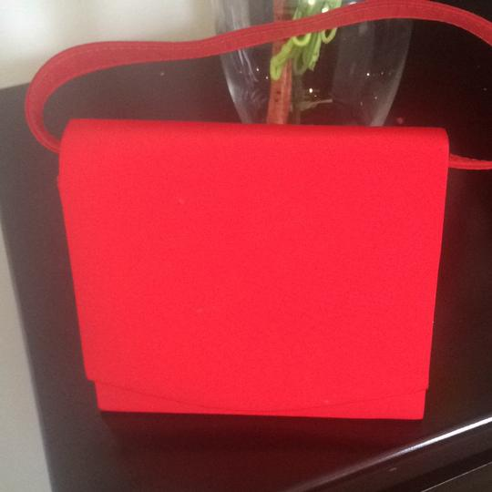 Other Vintage Retro red Clutch Image 4