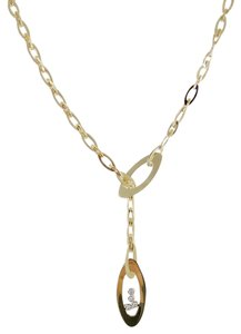 Roberto Coin Roberto Coin 18K Diamond Chic and Shine Lariat Necklace