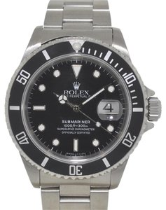Rolex Rolex 16610 Submariner Stainless Steel Black Dial Automatic Watch
