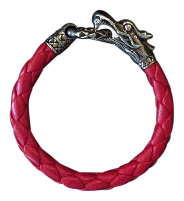 Item - Red and Silver Bracelet