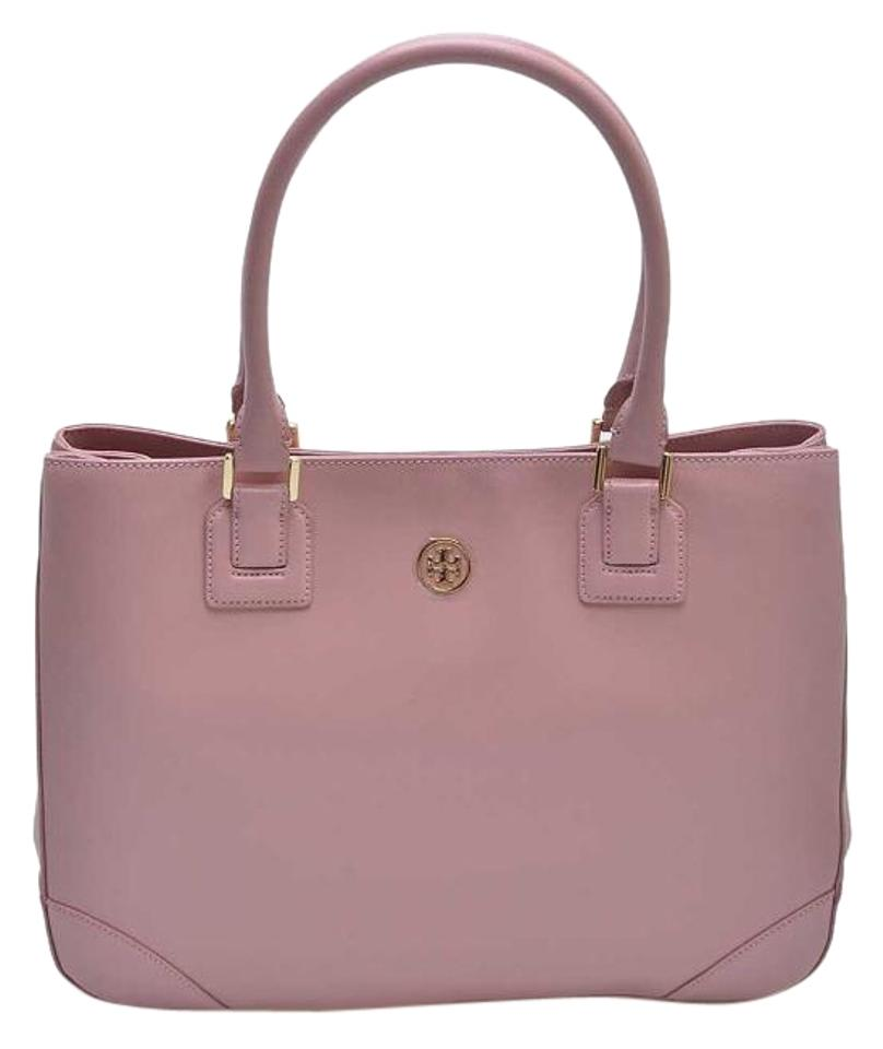 38a7a456ca6 Tory Burch Robinson With Tags Large Shoulder Retail Pink Leather Tote