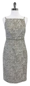 Magaschoni short dress Olive Beige Paisley Print on Tradesy