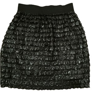 Kimchi Blue Shimmer Shiny High-waisted Mini Skirt