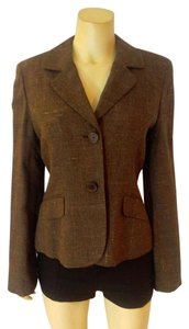 Ann Taylor Jacket Size 8 brown Blazer