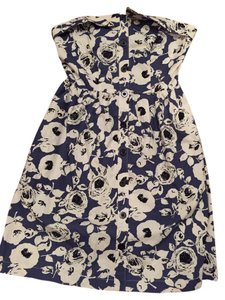 Urban Outfitters short dress Blue Flowered on Tradesy