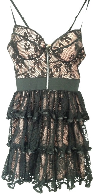 Preload https://item5.tradesy.com/images/pink-and-black-night-out-dress-size-6-s-163024-0-0.jpg?width=400&height=650