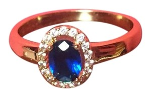 Other Beautiful Ring With Blue Stone - NWOT