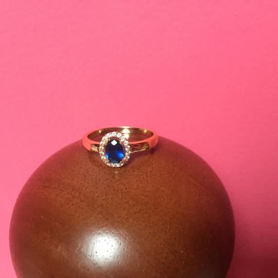 Other Beautiful Ring With Blue Stone - NWOT Image 1