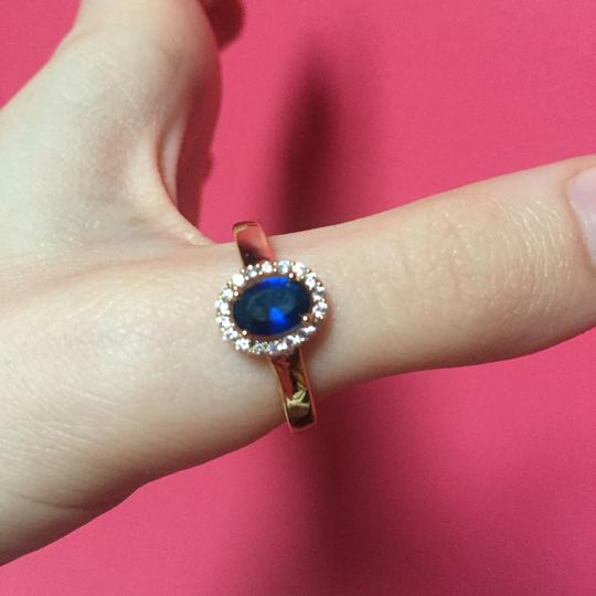 Other Beautiful Ring With Blue Stone - NWOT Image 2