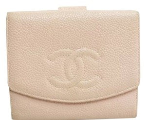 Chanel Auth Chanel Pink Wallet