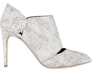 Rupert Sanderson Bootie Leather White/Black Boots