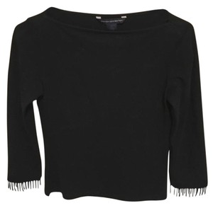 French Connection Crop Top Black