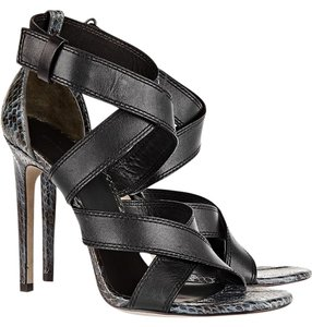 Alexander Wang Sandal Leather Black (and Gray/Green) Sandals