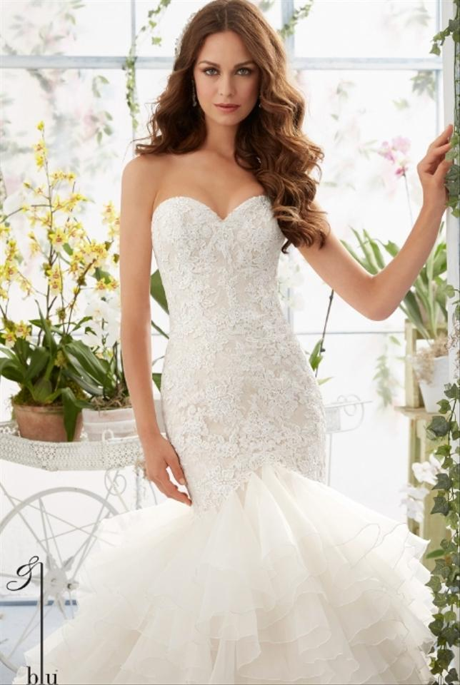 Mori lee 5409 wedding dress on sale 25 off wedding for Mori lee wedding dress sale